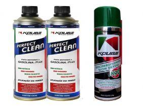 Kit 2 Perfect Clean + 1 Descarbonizante K90 Koube 300ml