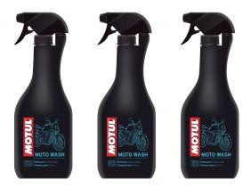 Kit 3 Un. Motul Mc Care E2 Moto Wash Limpador De Motos