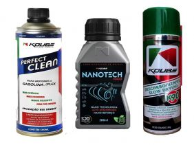 Kit Com 1 Perfect Clean + 1 Nanotech 1000 + 1 K90 Koube