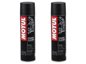 KIT COM 2 MOTUL C1 CHAIN CLEAN AEROSSOL