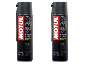 KIT COM 2 MOTUL C4 CHAIN LUB FACTORY LINE