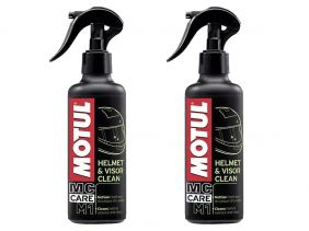 KIT COM 2 MOTUL M1 HELMET & VISOR CLEAN