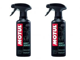Kit Com 2 Un. Removedor Motul Insect Remover E7 Spray 400ml