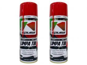 Kit Com 2 Unidades Descarbonizante Limpa Tbi Koube 300 ml