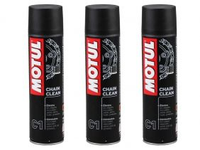 KIT COM 3 MOTUL C1 CHAIN CLEAN AEROSSOL