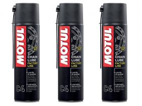 KIT COM 3 MOTUL C4 CHAIN LUB FACTORY LINE