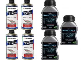 Kit Com 4 Perfect Clean + 3 Condicionador de Metais Nanotech