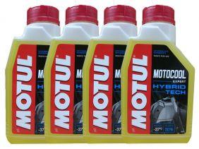 Kit Com 4L Motul Motocool Expert Para Radiadores de Motos
