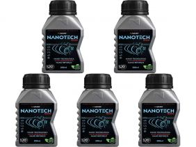 Kit Com 5 Nanotech 1000 Condicionador De Metais Koube 200ml