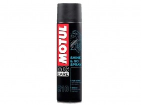 MOTUL MC CARE E10 SHINE & GO SPRAY 400ML