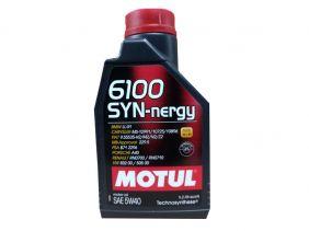 ÓLEO MOTUL 6100 SYN-NERGY 5W40 SINTÉTICO