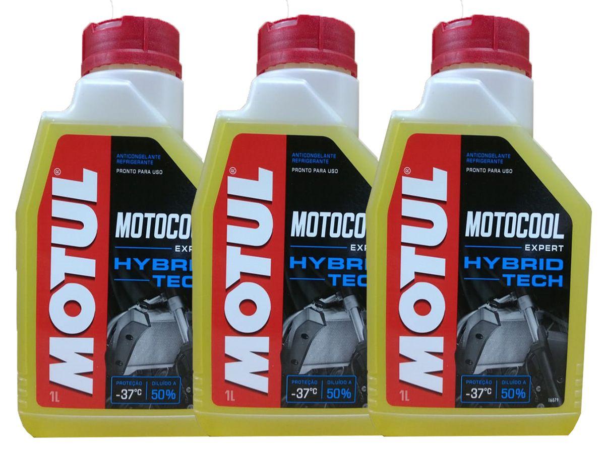 3L Motul Motocool Exp. Para Radiadores de Motos Frete Grátis