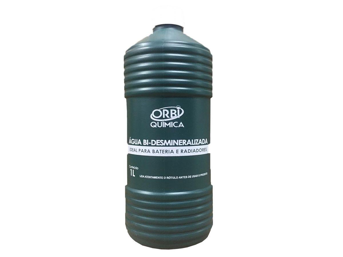 Aditivo Concentrado Koube Plus Amarelo + Água Desmineralizada