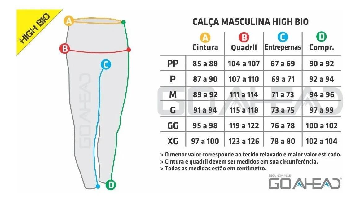 CALÇA HIGH BIO MASCULINO VERÃO