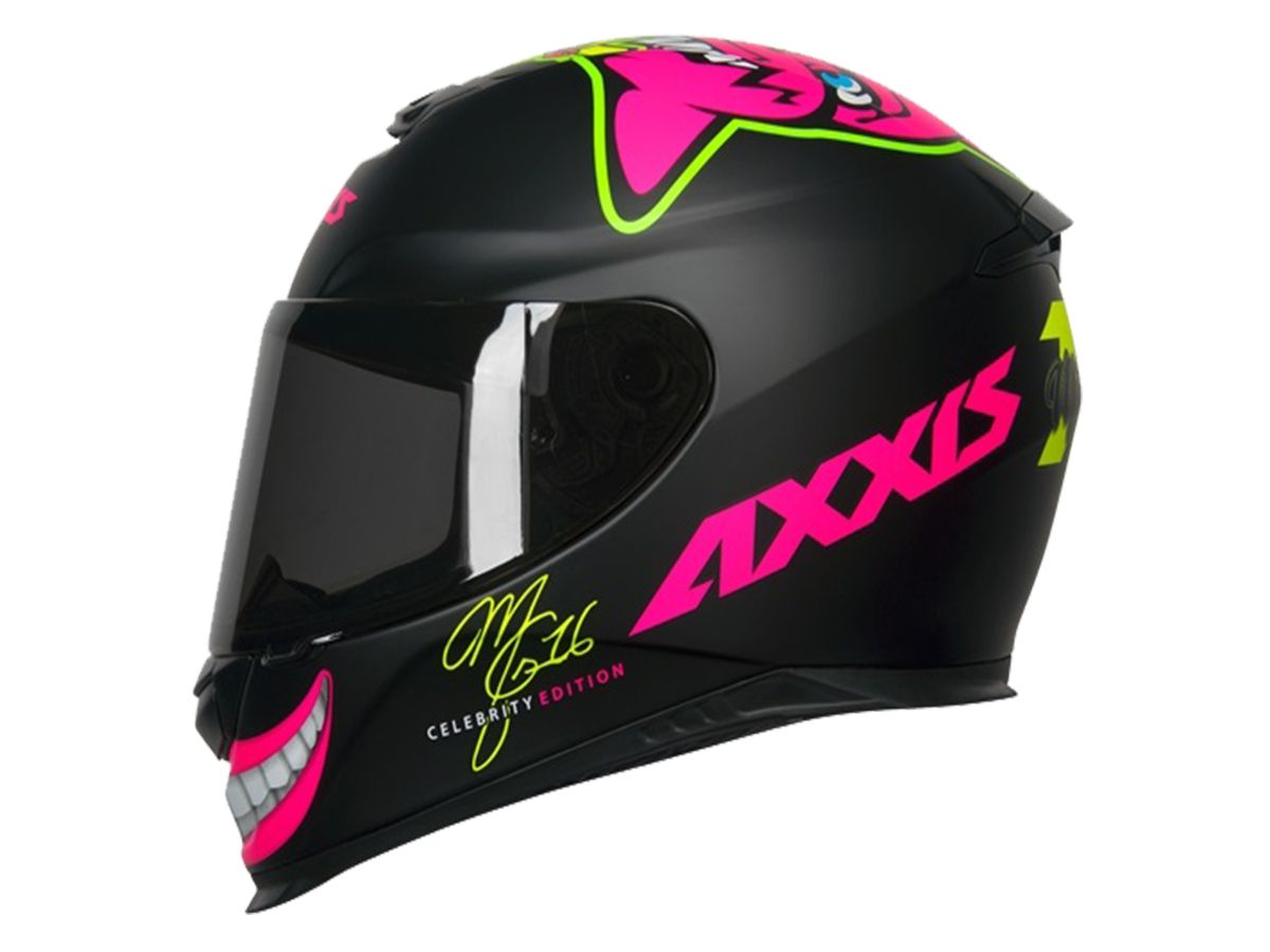 CAPACETE AXXIS EAGLE MG16 CELEBRITY EDITION BY MARIANNY