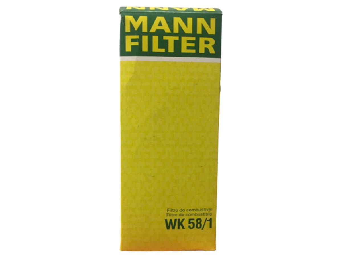 FILTRO COMBUSTIVEL - WK58/1 MANN