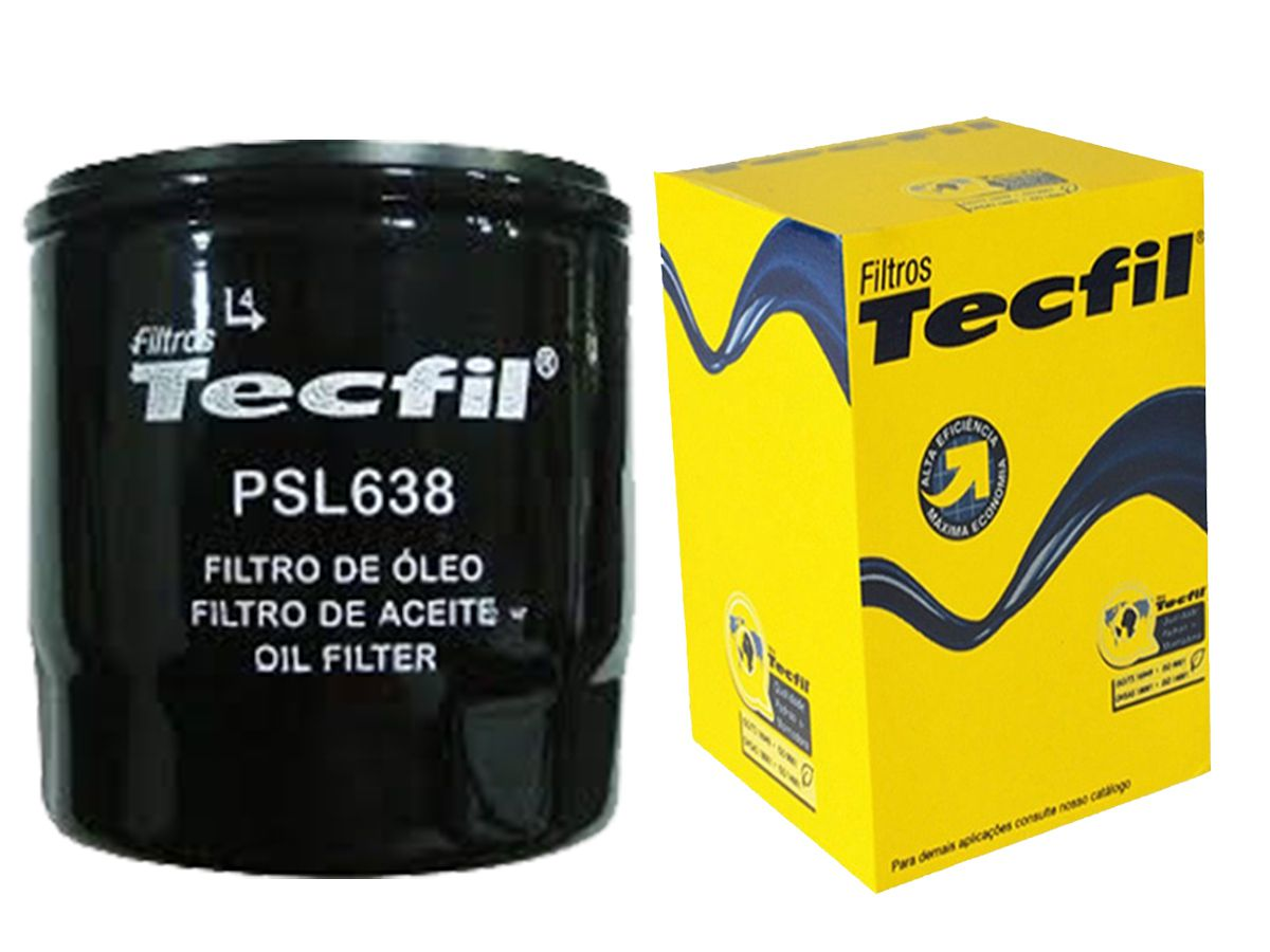 FILTRO ÓLEO LUBRIFICANTE - PSL638 TECFIL