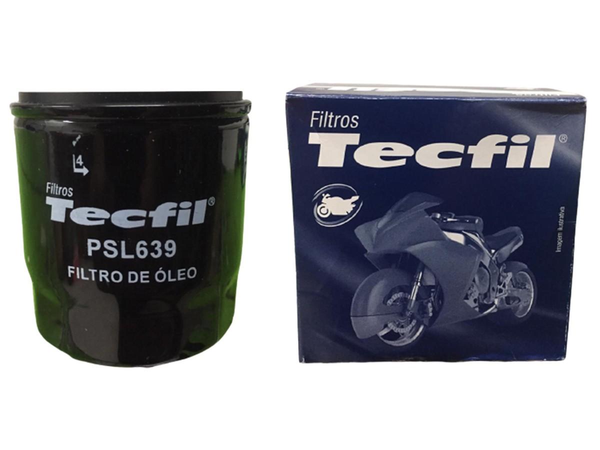 FILTRO ÓLEO LUBRIFICANTE - PSL639 TECFIL
