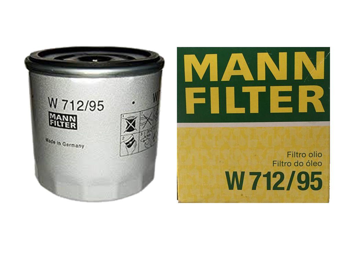 FILTRO ÓLEO LUBRIFICANTE - W71295 MANN