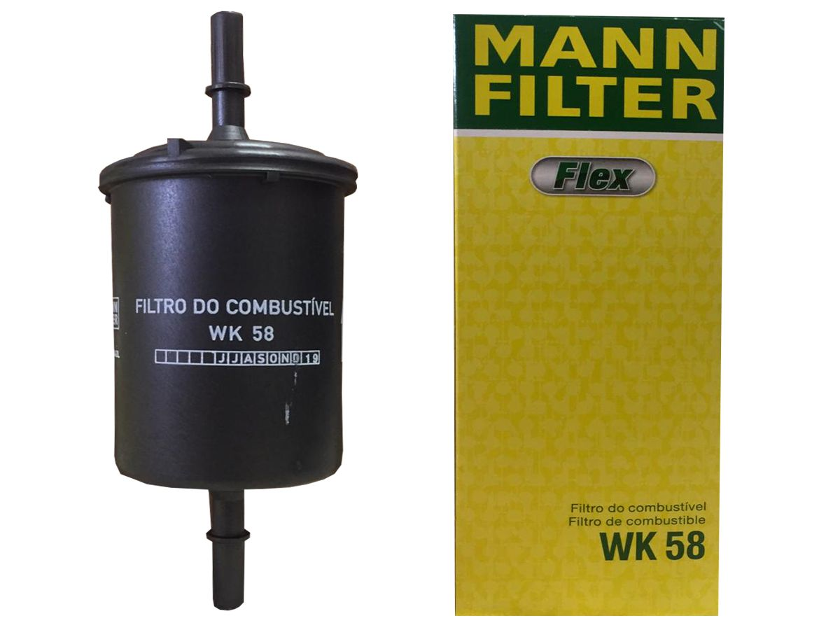 FILTRO COMBUSTÍVEL - WK58 MANN BLINDADO
