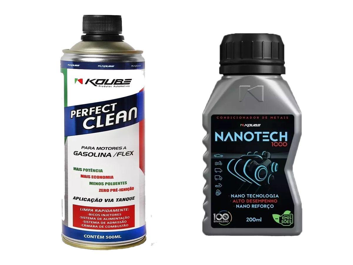 Kit 1 Perfect Clean + 1 Condicionador de Metais Nanotech