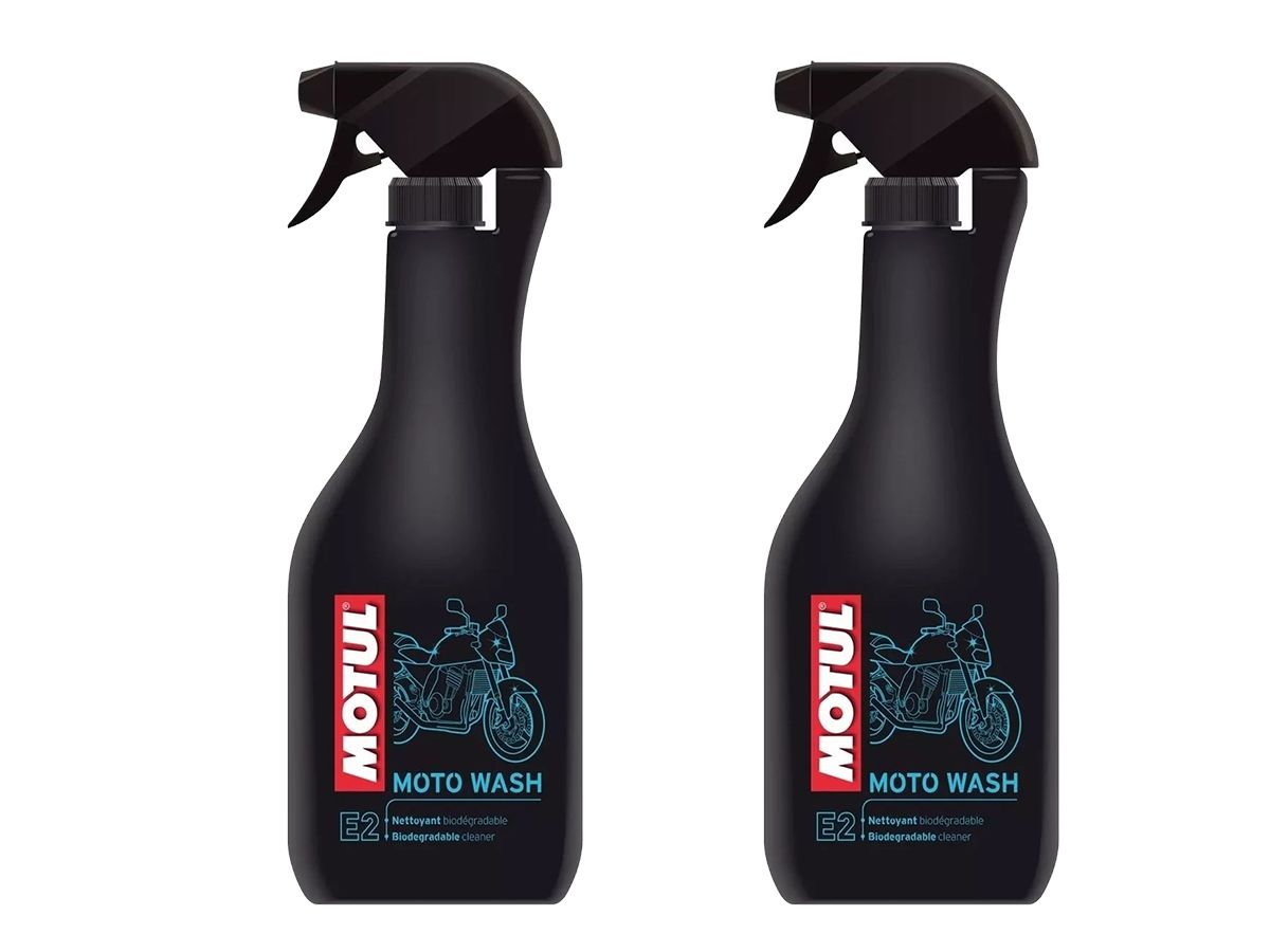 Kit 2 Un. Motul Mc Care E2 Moto Wash Limpador De Motos