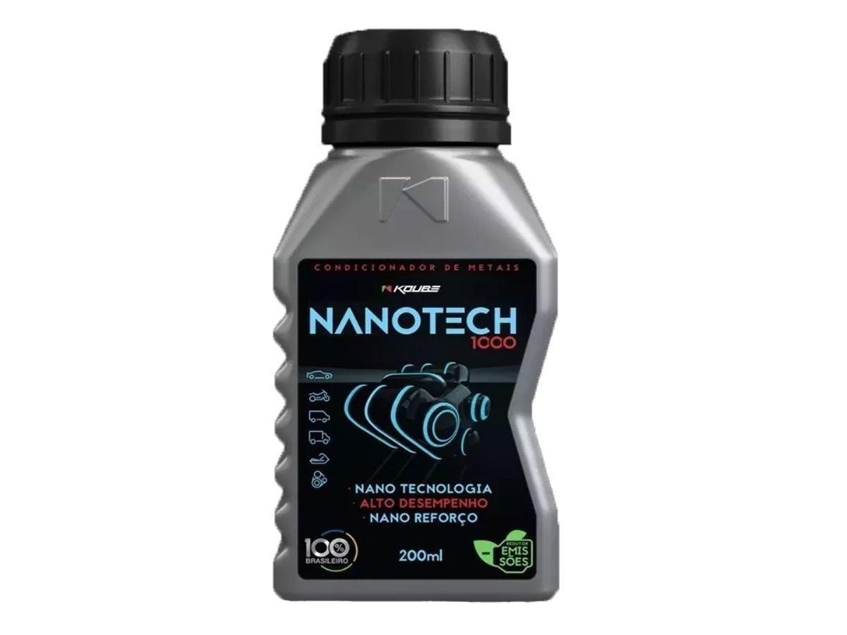 Kit Com 2 Descarbonizante K90 + 2 Limpa Tbi Koube + 2 Nanotech 1000