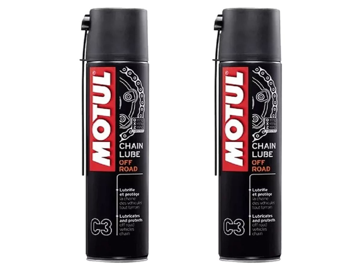 KIT COM 2 MOTUL C3 CHAIN LUB OFF ROAD