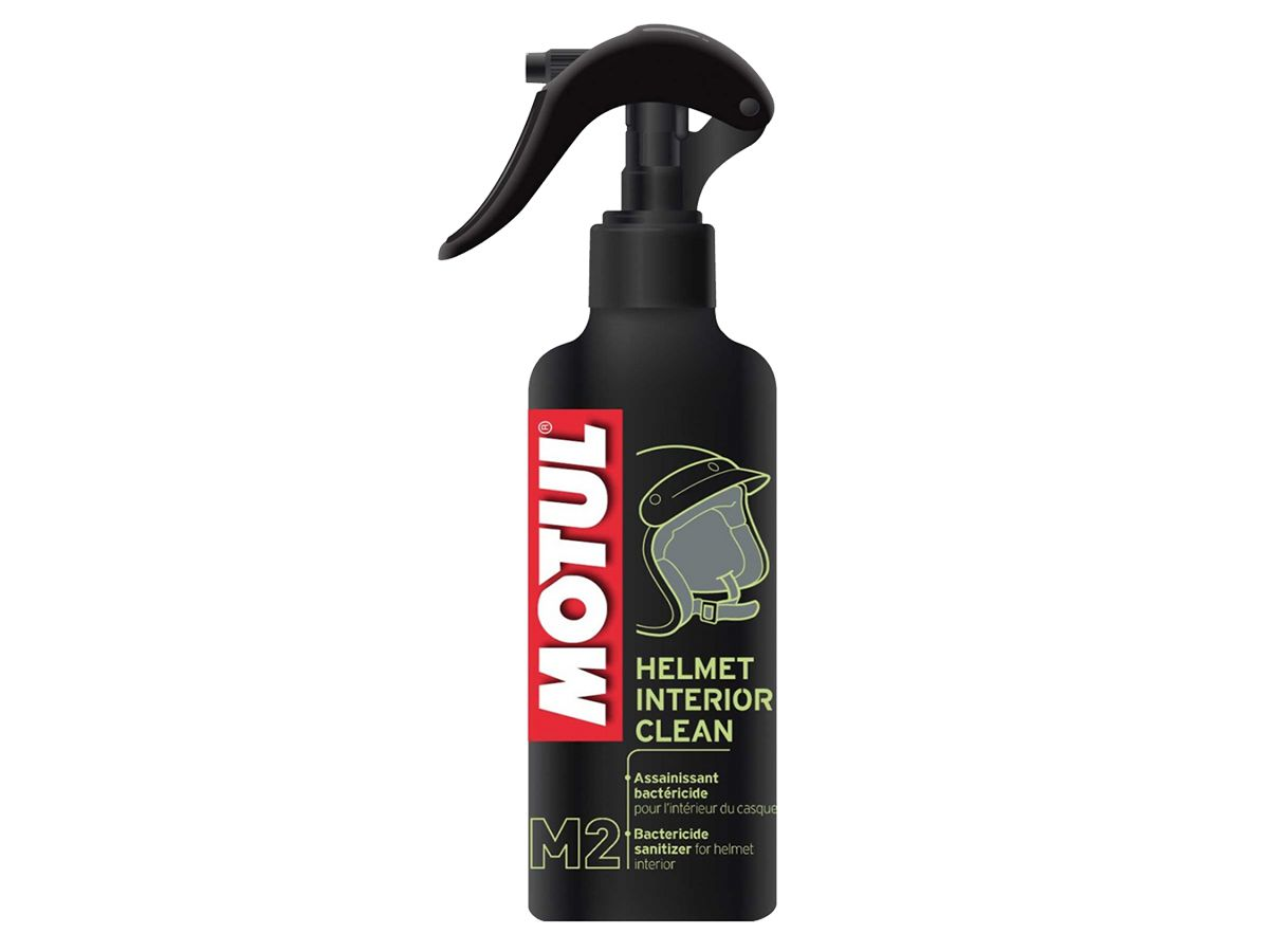KIT COM 2 MOTUL M2 HELMET INTERIOR CLEAN - 0,25L