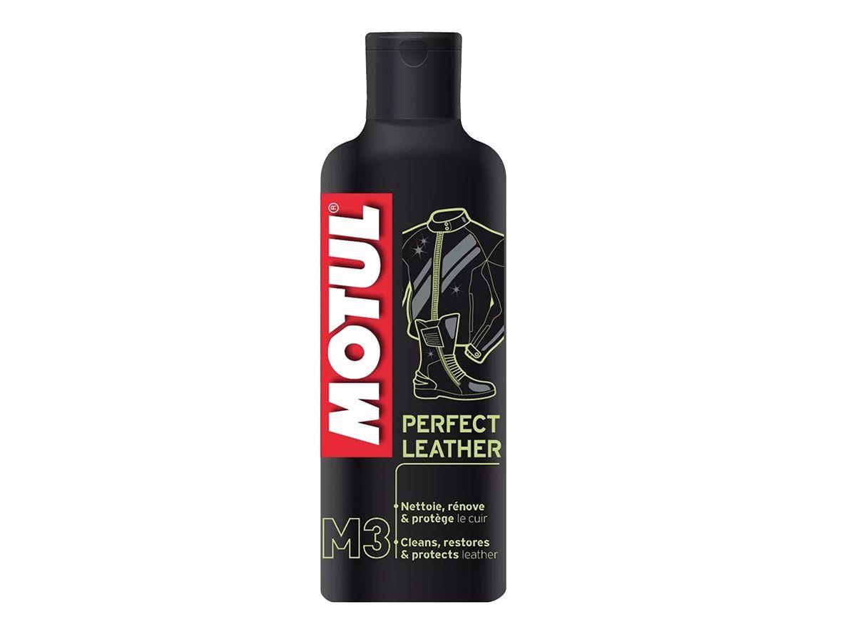 Kit Com 2 Motul M3 Perfect Leather Limpeza De Couros 250ml