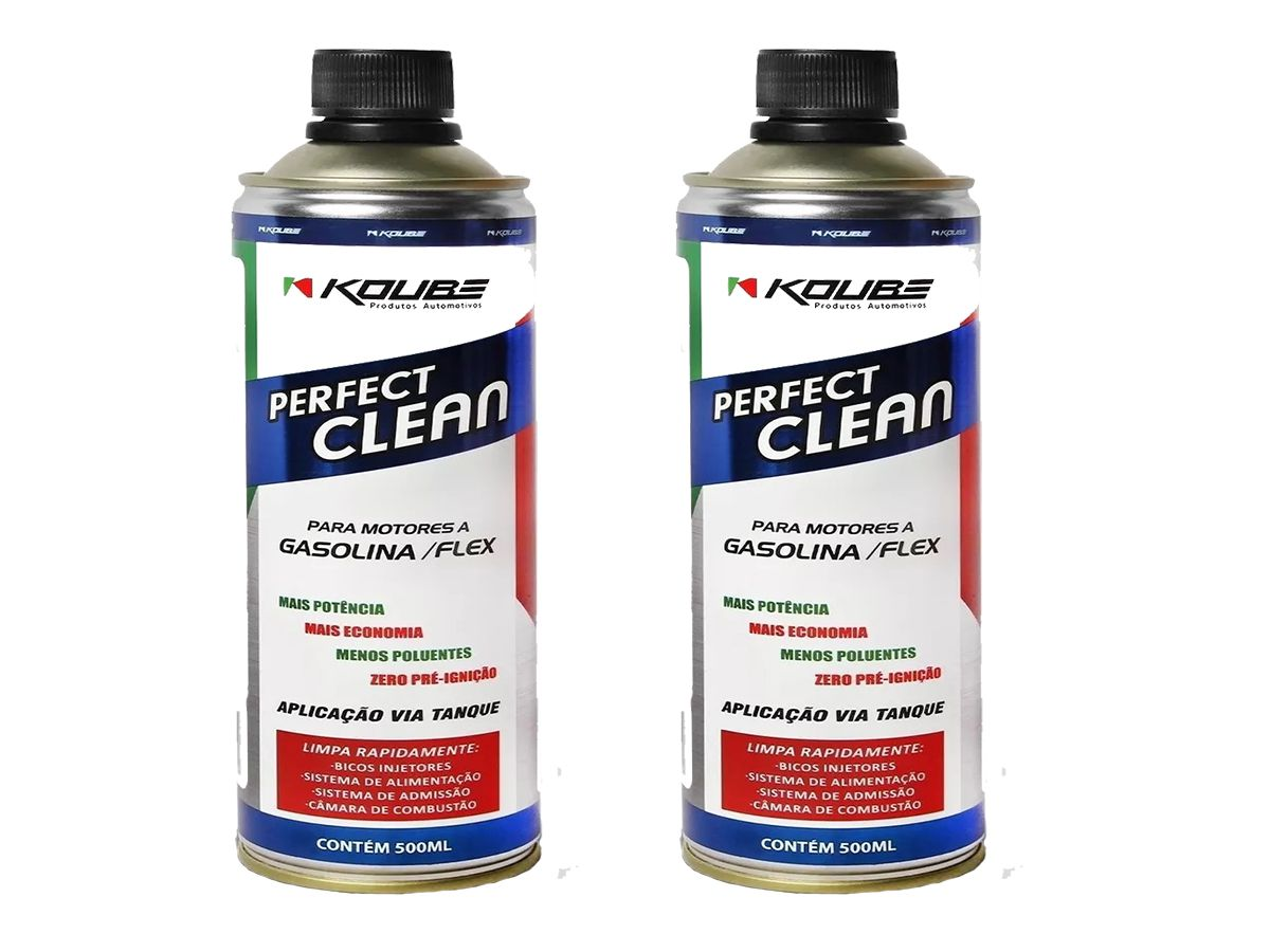 Kit Com 2 Perfect Clean Flex Gasolina/ Etanol Koube 500ml