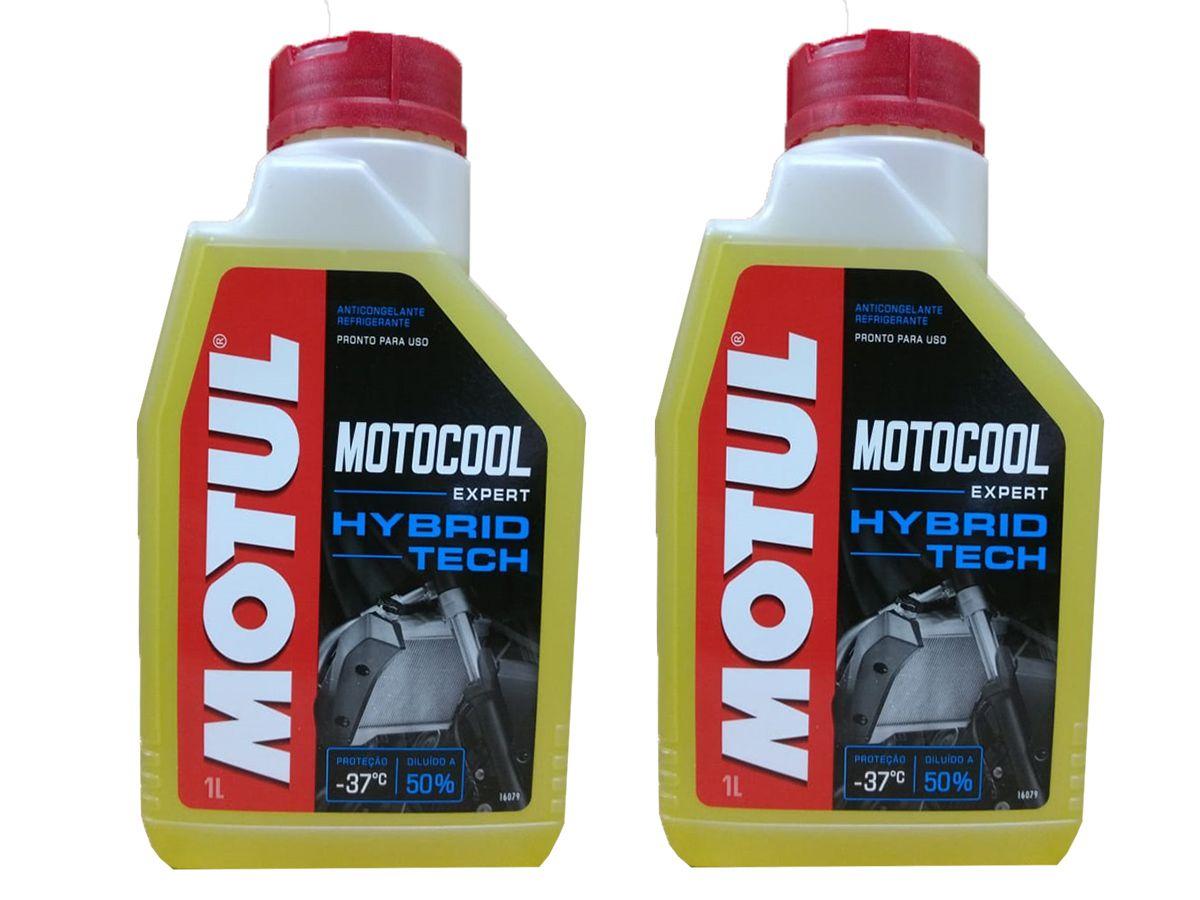 Kit Com 2L Motul Motocool Expert Para Radiadores de Motos