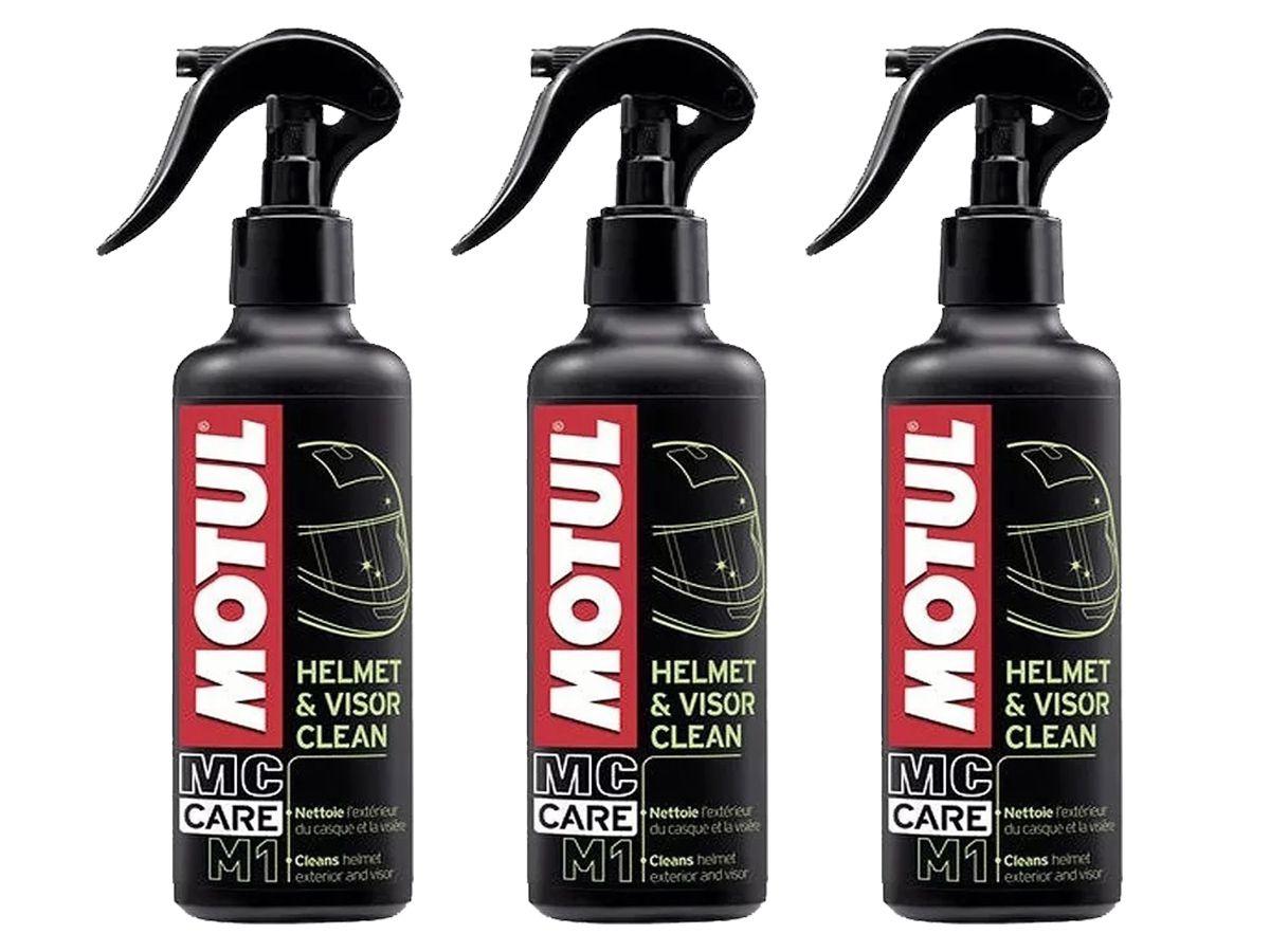 KIT COM 3 MOTUL M1 HELMET & VISOR CLEAN