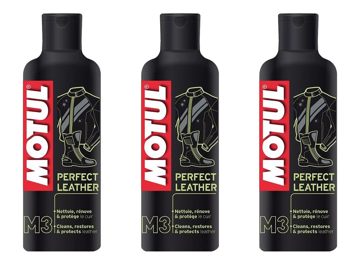 Kit Com 3 Motul M3 Perfect Leather Limpeza De Couros 250ml