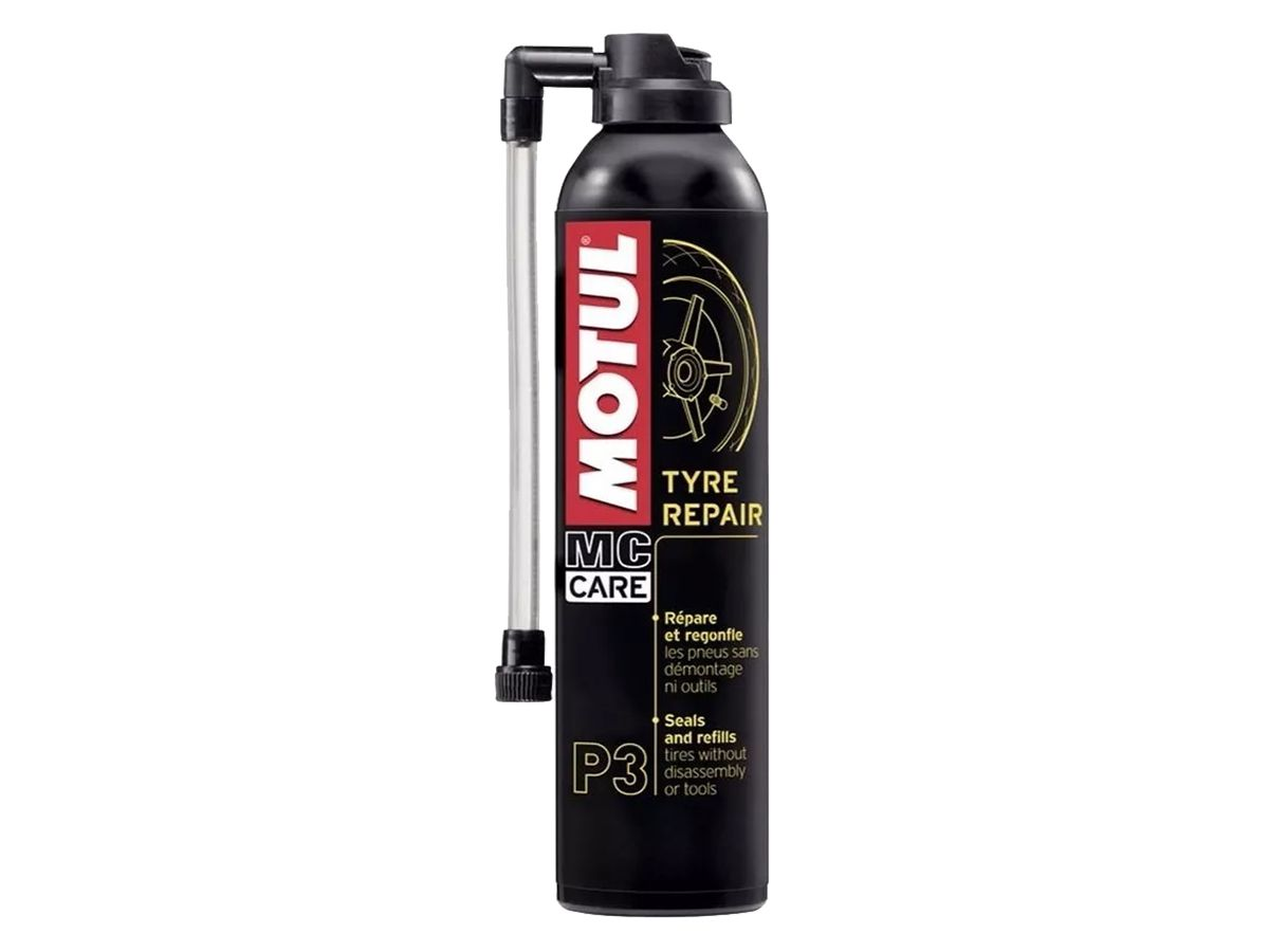 Kit Com 3 Un. Motul Mc Care P3 Tyre Repair-Pneu Furado 300ml