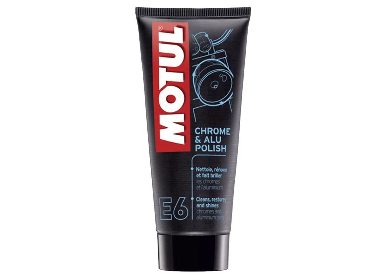 KIT COM 4 MOTUL E6 CHROME & ALU POLISH - 0,1L