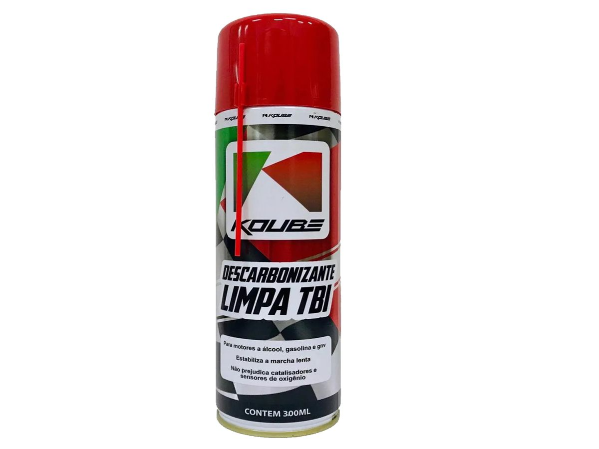 Kit Com 4 Unidades Descarbonizante Limpa Tbi Koube 300 ml