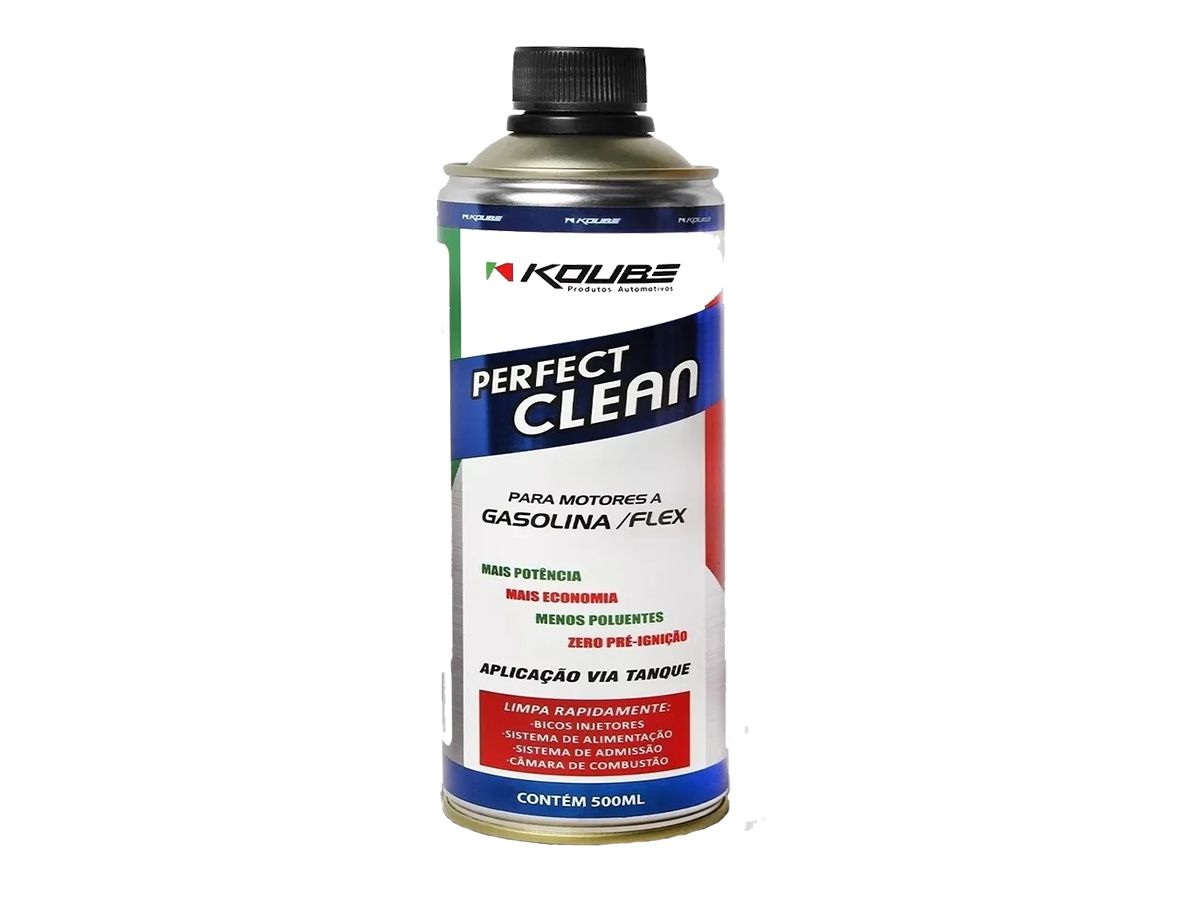 Kit Com 5 Perfect Clean Flex Gasolina/ Etanol Koube 500ml