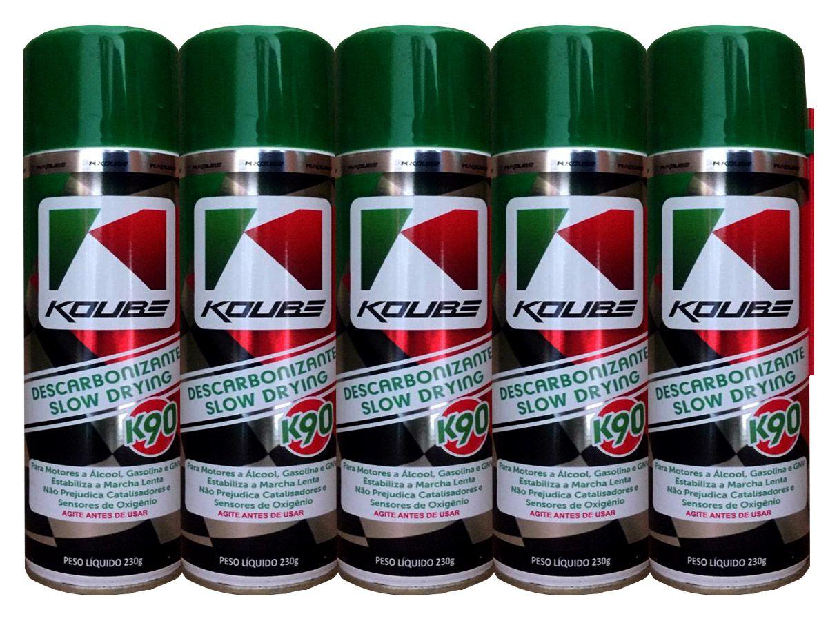 Kit Com 5 Unidades Descarbonizante Slow Drying K90 Koube