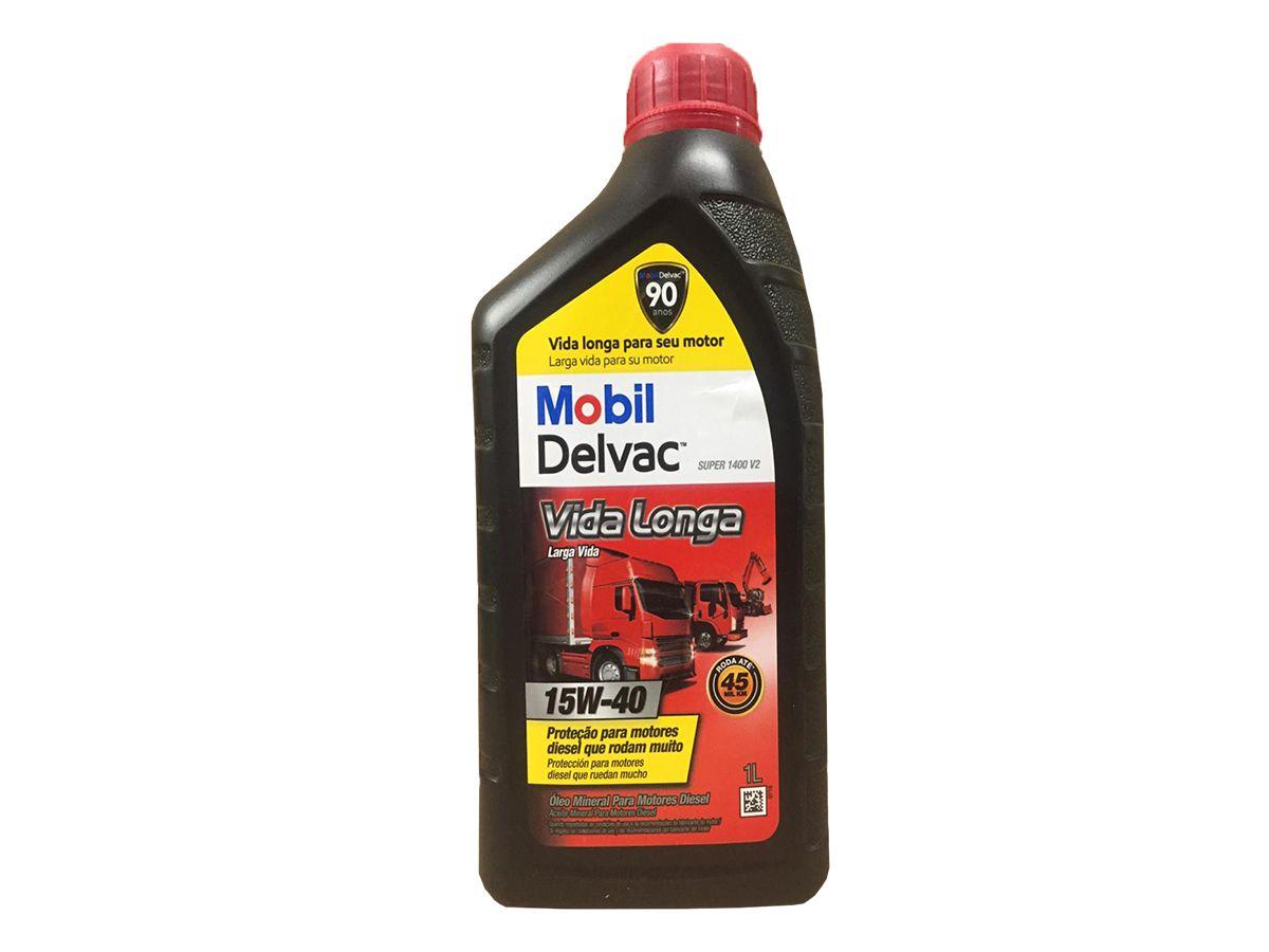 MOBIL DELVAC SUPER 1400 V2 15W40 1L