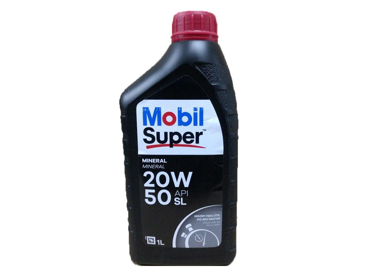 MOBIL SUPER 1000 20W50 ORIGINAL API SL 1L