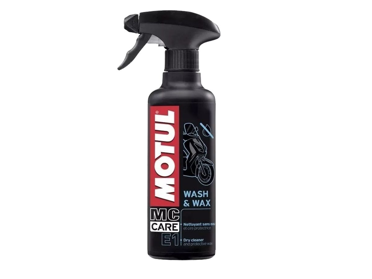 MOTUL E1 WASH & WAX - 400 ML