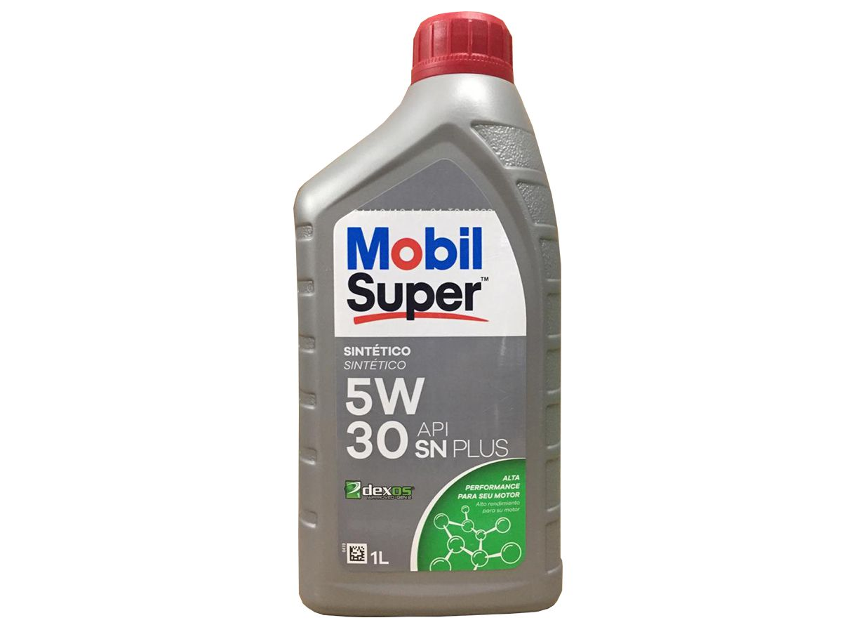 ÓLEO MOBIL SUPER 3000 FORM D1 5W30 SINTÉTICO 1L
