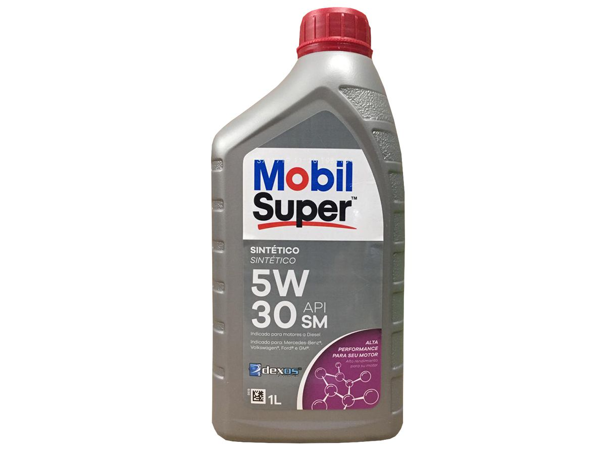 ÓLEO MOBIL SUPER 3000 XE DIESEL 5W-30 SINTÉTICO 1L