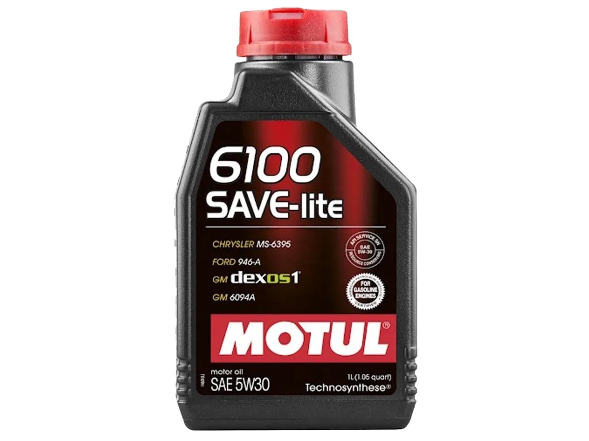 ÓLEO MOTUL 6100 SAVE-LITE 5W30 SINTÉTICO