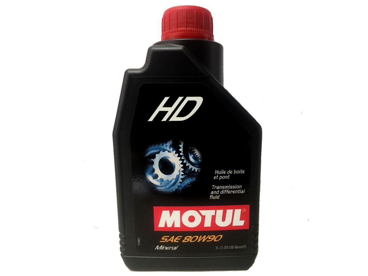 ÓLEO MOTUL HD 80W90 1L - DIFERENCIAL E TRANSMISSÃO