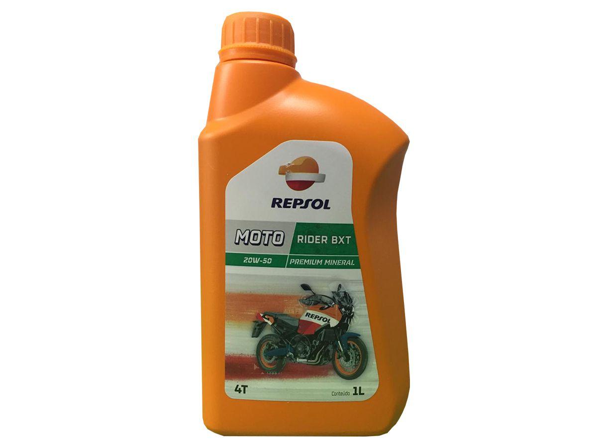 ÓLEO REPSOL RB MOTO RIDER 4T BXT 20W50 1L