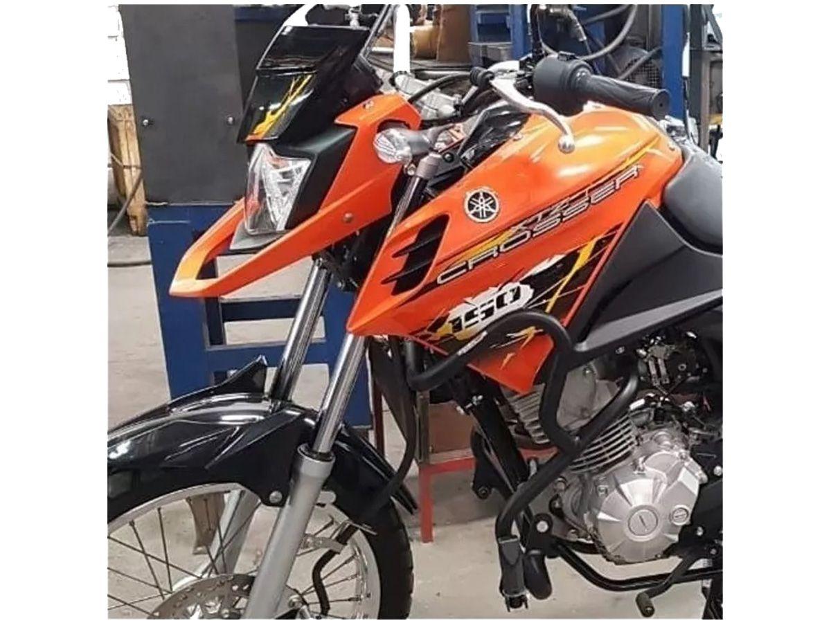 PROTETOR COYOTE DE MOTOR E CARENAGEM COM PEDALEIRAS PTO CROSSER 150 - YAMAHA PM010