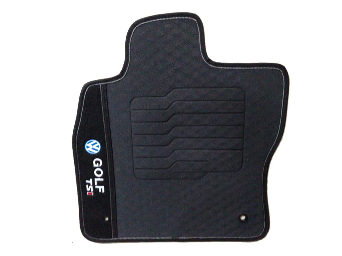TAPETE AUTOMOTIVO PVC - BORRACHA COM 4 PEÇAS GOLF TSI