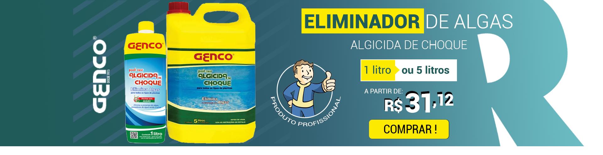 ELIMINADOR DE ALGAS ALGICIDA DE CHOQUE GENCO